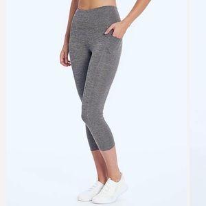 Bally Total Fitness Pocket High-Rise Capri Legging